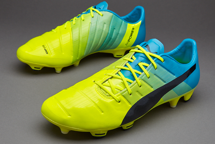 puma evospeed amarillo